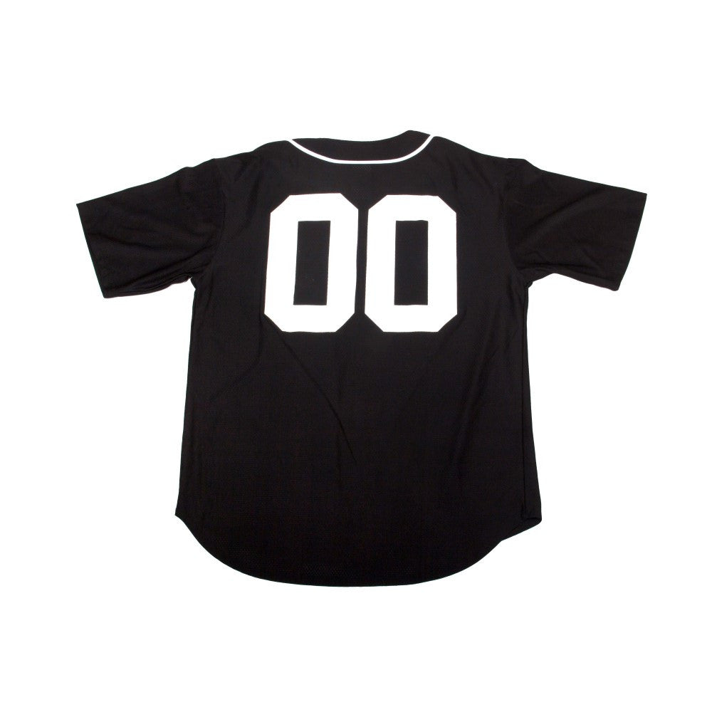 Traditional Juice Co Baseball Jersey black back