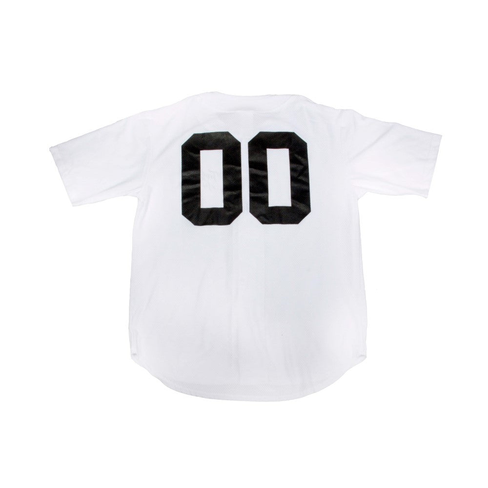 Traditional Juice Co Baseball Jersey white back
