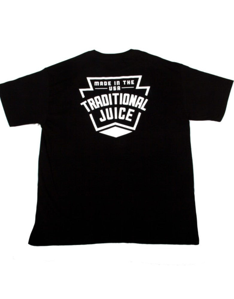 Traditional Juice Co Keystone T-Shirt black back