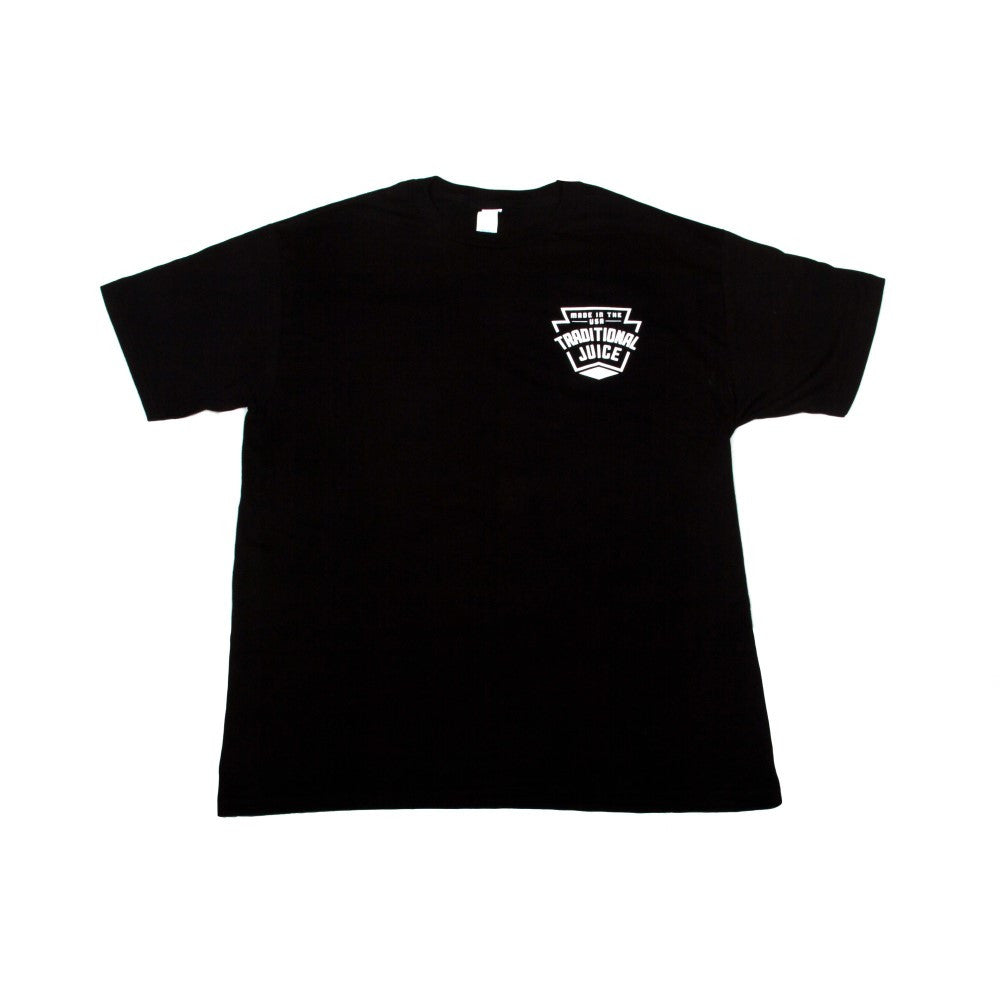 Traditional Juice Co Keystone T-Shirt black front
