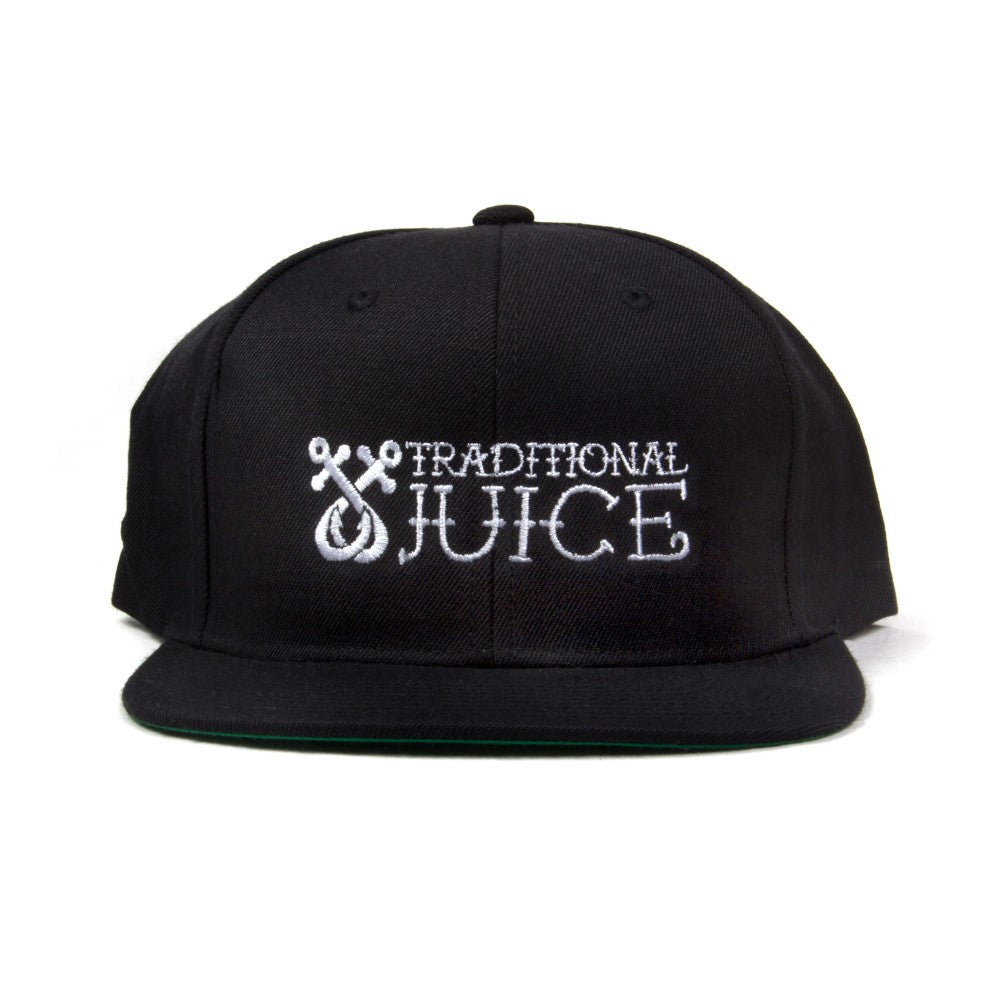 Traditional Juice Co Snapback Regular Logo black