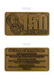 150 Years The Ateneo Way Plate Tag Antique 38mm