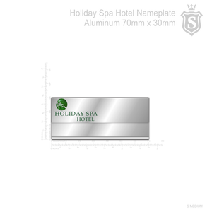 Holiday Spa Hotel Nameplate