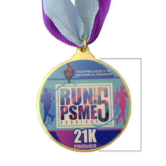 Run for PMSE 5 Medal