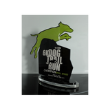 1st Cebu 6K Dog Trail Fun Run Plaque 11.6 inch