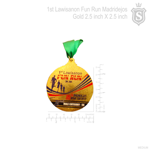 1st Lawisanon Fun Run Madridejos