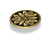 Hand Leaves - 01 Medallion