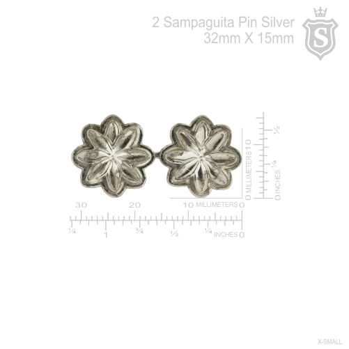 2 Sampaguita Pin