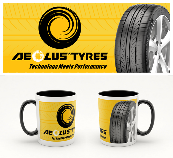Aeolus Tyres Color Changing Mug