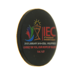 IEC Acrylic Magnetic Pin