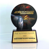 Aeolustyres Top Runner Dealer Plaque 11 inch