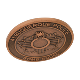 Alburquerque Police Bomb Squad Coin Antique 42mm