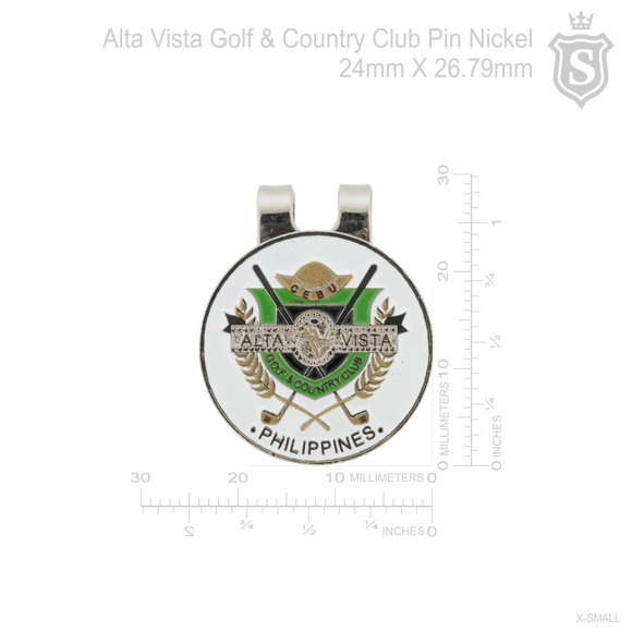 Alta Vista Golf & Country Club Ball Marker Pin