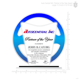 Auto Central INC. Partner of the Year Award Medium 9.5 inch