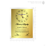 Auto Global INC. Award of Loyalty 11 inch
