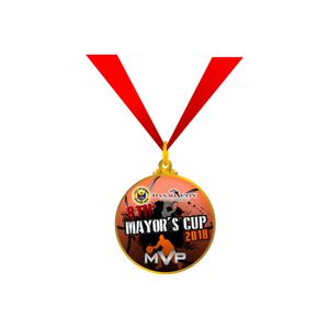 8th Mayors Cup Medal
