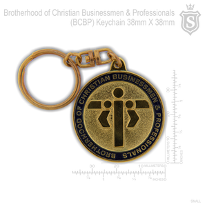 Brotherhood of Christian Businessmen and Professional (BCBP)  Round Keychain