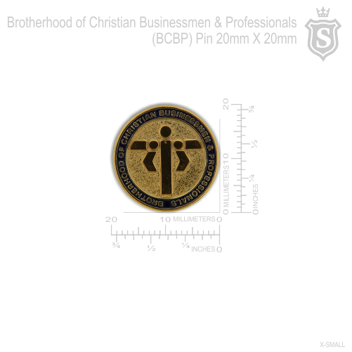 Brotherhood of Christian Businessmen & Professionals (BCBP) Pin