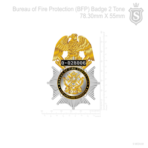 BFP - Bureau of Fire Protection Badge