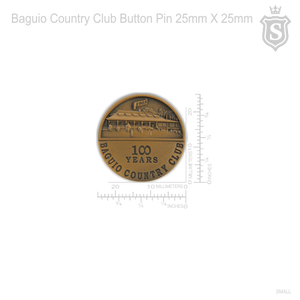 Baguio Country Club Pin
