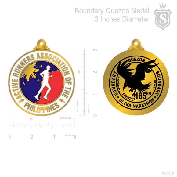 Boundary Quezon Medal
