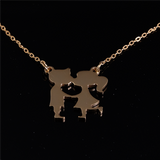 You and I Pendant Gold 25mm