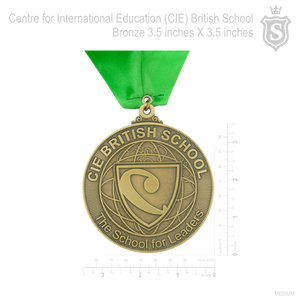 "Centre for International Education (CIE) Medal 2020 1.5"" dia"