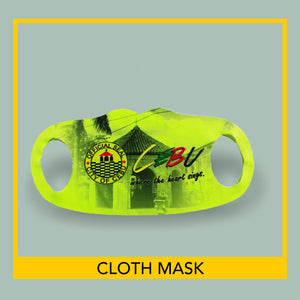 Customized Spit Guard Face Masks- 10 pieces per pack