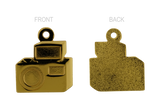 Camera Pendant Gold 20mm