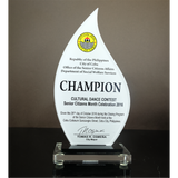 Cebu City Office of the Senior Citizens Affairs (OSCA) Cultural Dance Recognition Plaque 8.67 in