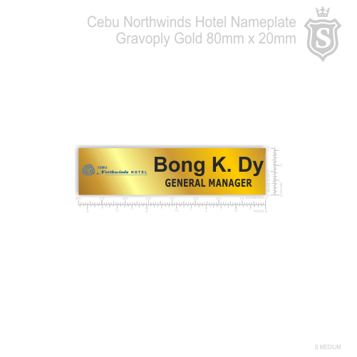 Cebu Northwinds Hotel Nameplate