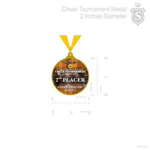 Chess Tournament Medal