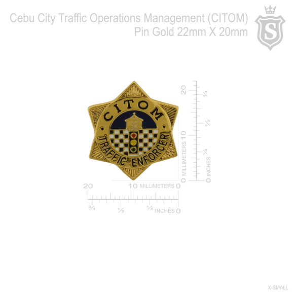 Cebu City Traffic Operation Management (CITOM)Pin