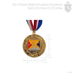 City of Danao Medal of Academic Excellence Gold