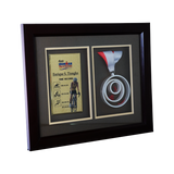 Cobra Iron Man 70.3 Philippines Framed Medal 14.5 inch