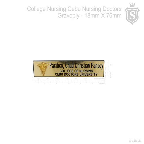 College of Nursing Nameplate