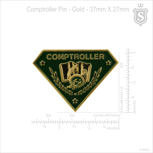 Comptroller Pin
