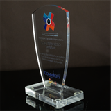 Convergys Special and Top Performance Plaque of Appreciation Clear Acrylic 6.659 inch