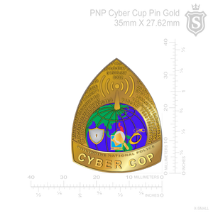PNP Anti-Cybercrime Pin