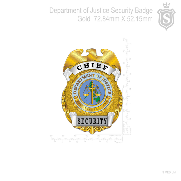 Department of Justice Badge