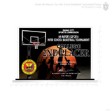 Danao 6th Mayor's Cup Basketball Tournament Plaque 2016