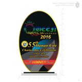 Queen of Danao Plaque