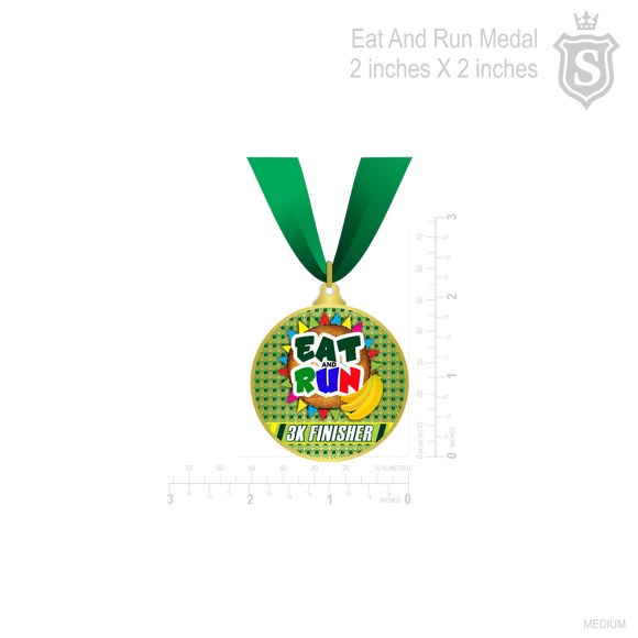 Eat and Run Gold Medal