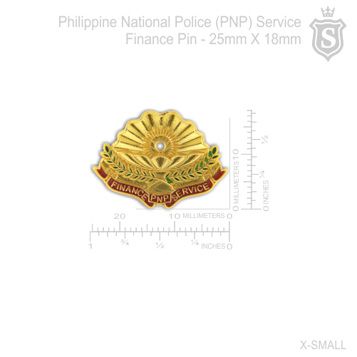 Philippine National Police (PNP) Service Finance Pin