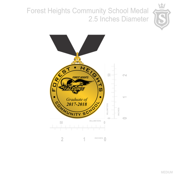 Forest Height Community School Medal