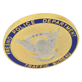 Fresno Police Department Coin Gold 42mm
