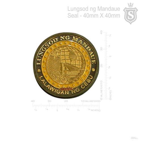 Lungsod ng Mandaue Seal 40mm