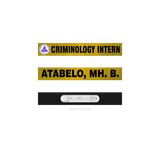 Mater Dei College Criminology Nameplate
