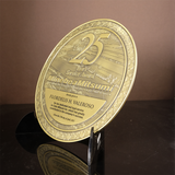 Mitsumi 25 Years Service Award Plaque
