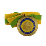 Mandaue City Hall Medal of Excellence Gold  65 mm
